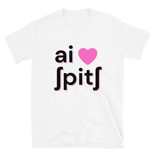 I Heart Speech IPA T-Shirt