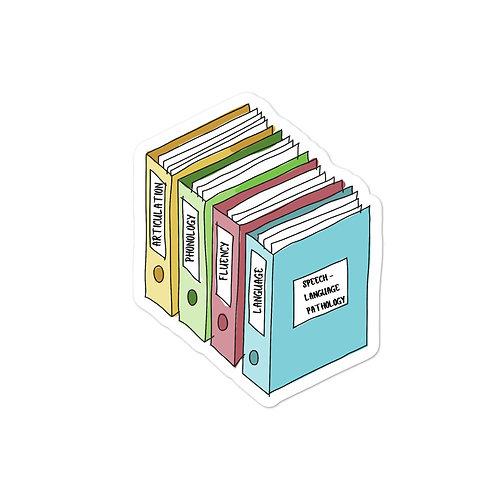SLP Scope of Practice Sticker