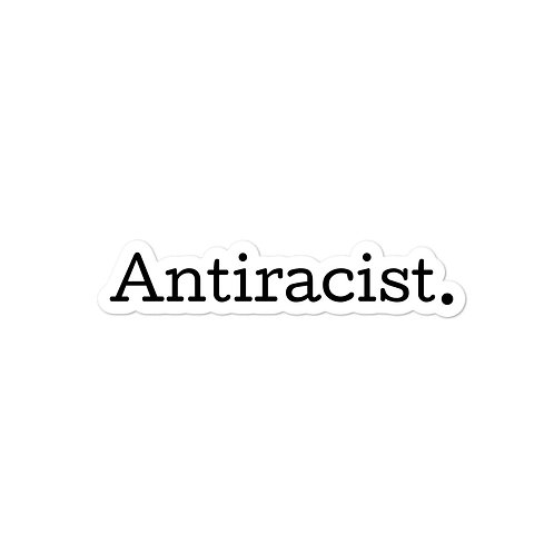 Antiracist Sticker