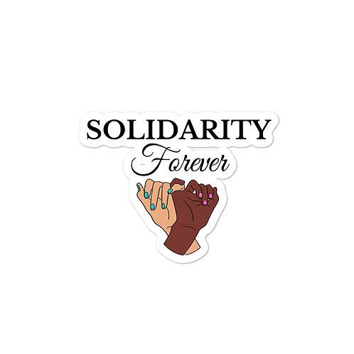 Solidarity Forever Sticker