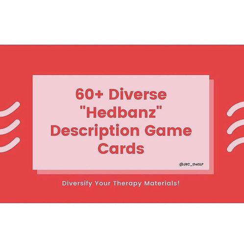 "60+ Diverse ""Hedbanz"" Description Game Cards"
