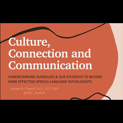 Use Your CCCs: Cultural Responsiveness, Compassion, and Connection