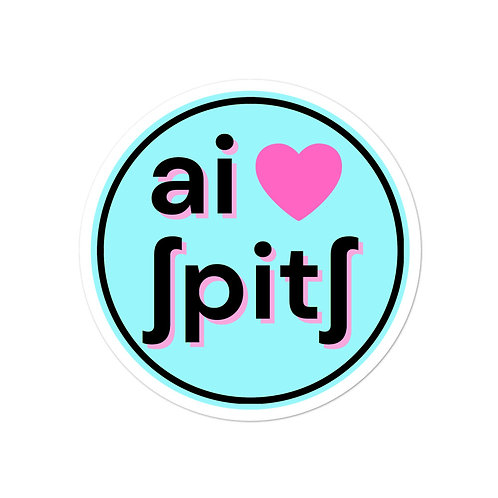 I Heart Speech IPA Sticker