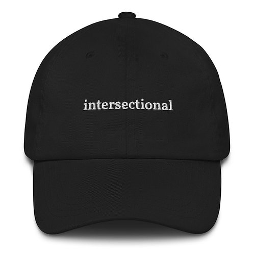 Intersectional Hat (White Text)