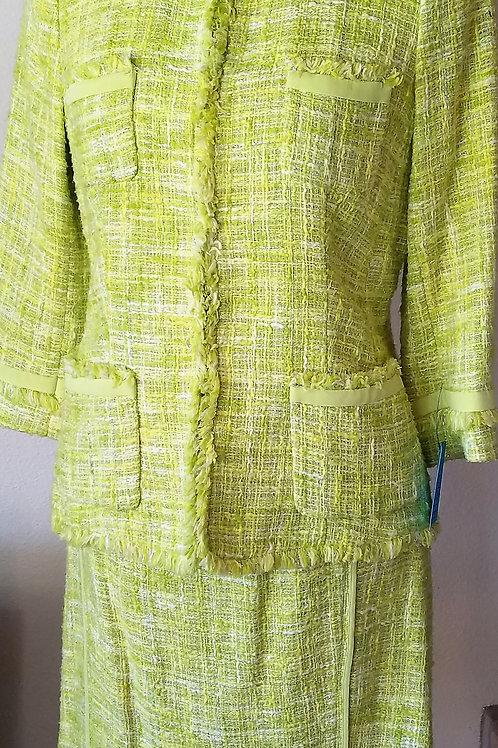 Lafayette 148 Suit, Jkt Size 4P, Skt Size 2     SOLD