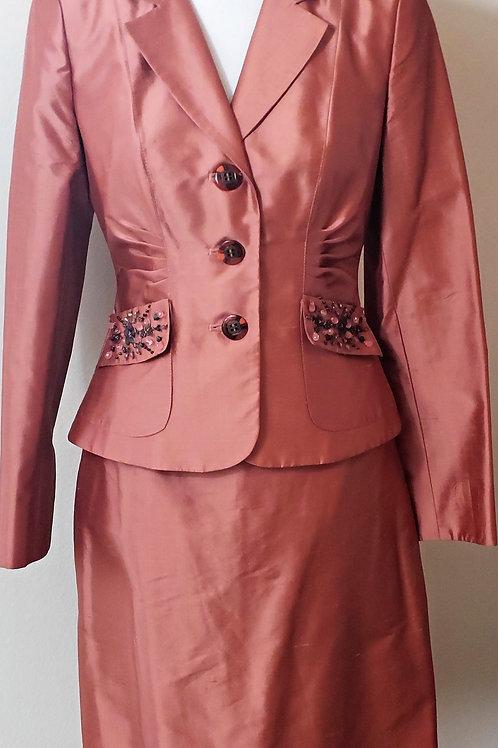 Kay Unger Suit, Size 4,  SOLD