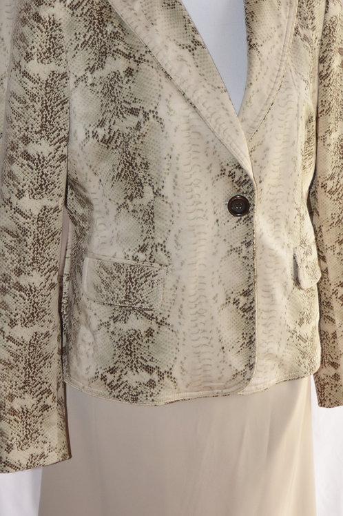 Focus Jacket, Laura Scott Skirt, Size 10   SOLD