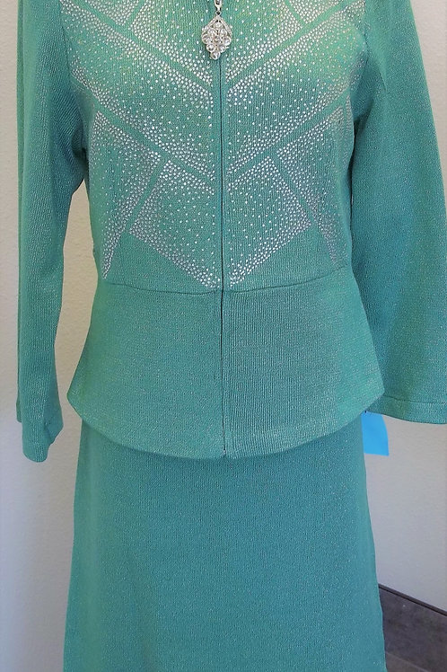 Elite Knit Suit, NWT, Size 18    SOLD