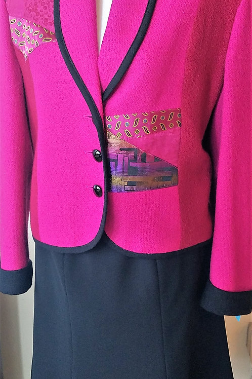 Canvasback Jacket Sz XS,Evan Picone Skirt Sz 6