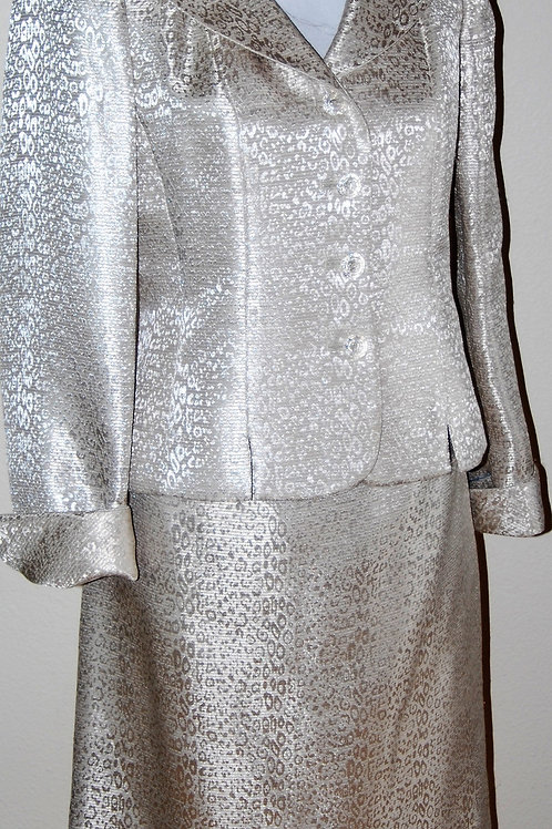 Le Suit, Suit, Size 4   SOLD