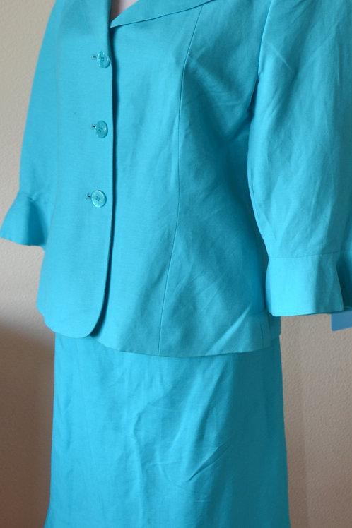 Le Suit, Suit, Size 8P    SOLD