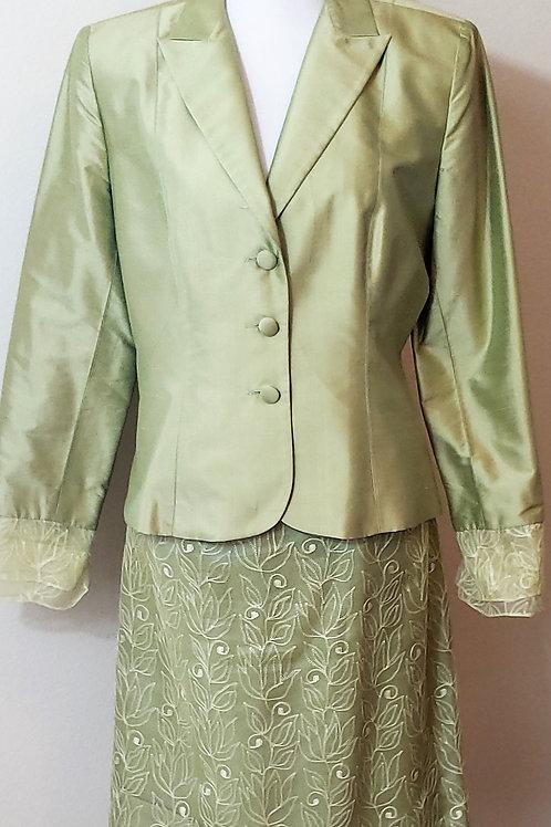 Kay Unger Suit, Size 10, Runs Small, Check Measurements