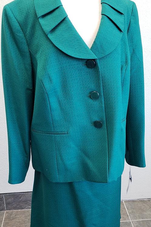 Le Suit, Emerald Suit, NWT Size 20W