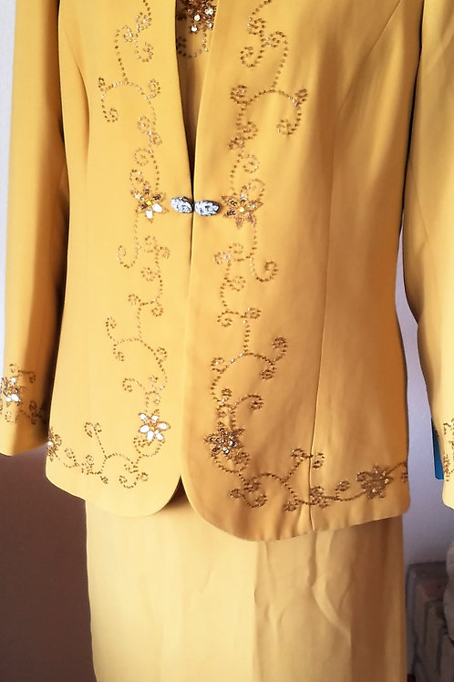 Maxie Klein Collections Suit, Size 14    SOLD
