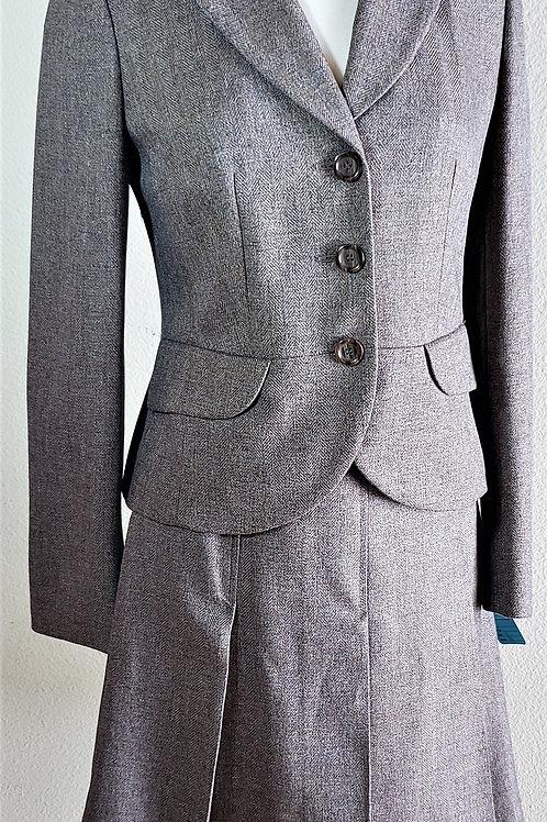 Isabel & Nina Suit (grey/brown) Size 4