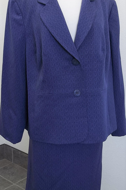 Le Suit, Purple Suit, Size 20W    SOLD
