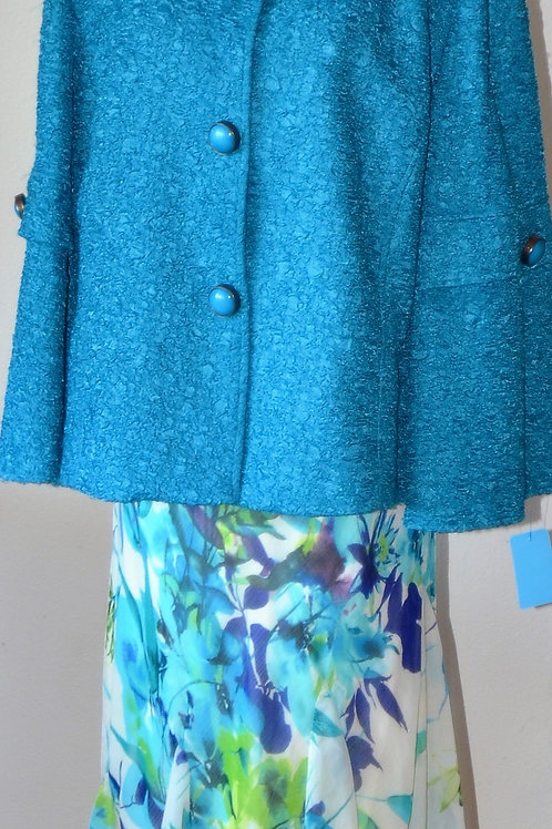 Picadilly Jacket, Notations Skirt, Size 3X    SOLD