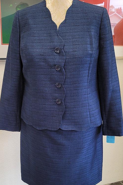 Le Suit, Navy Suit, NWT, Size 18