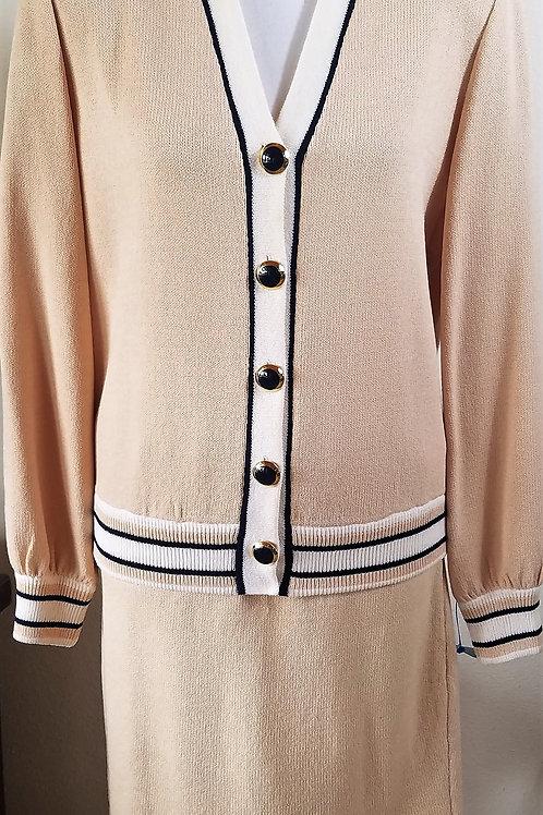 St. John Collection Suit, Jacket Sz M (8), Skirt Sz 10