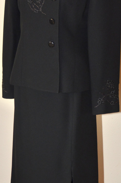 Kasper Suit, Size 8P, Skirt has been shortened    SOLD