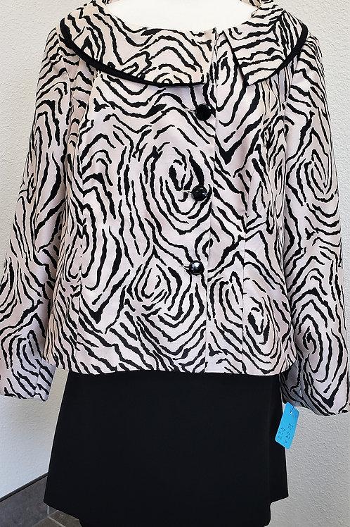 Isabella Jacket, Kasper Skirt, Size 18W