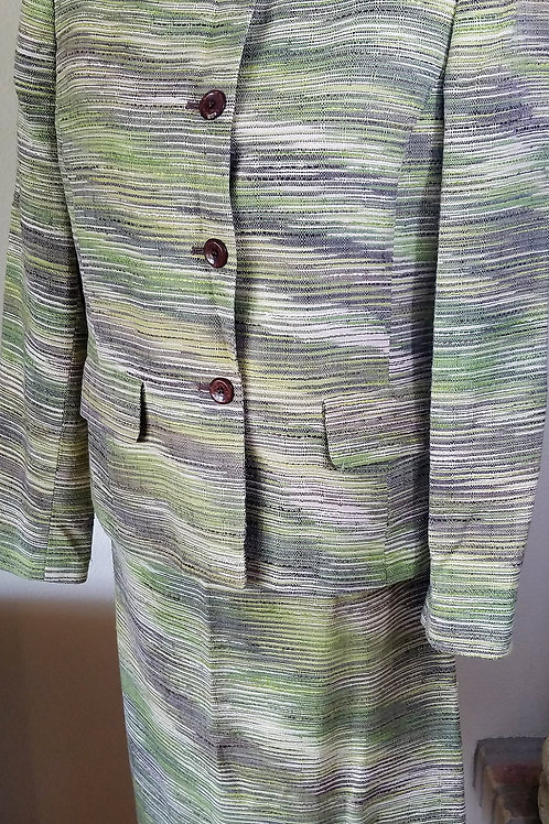 Kasper Suit, Size 10    SOLD