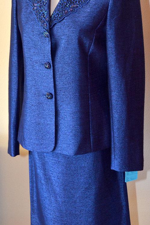 Kasper Evening Suit, Size 6   SOLD