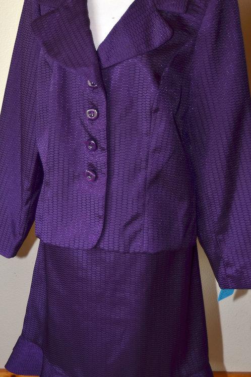 Nicolette Suit, Size 14W   SOLD