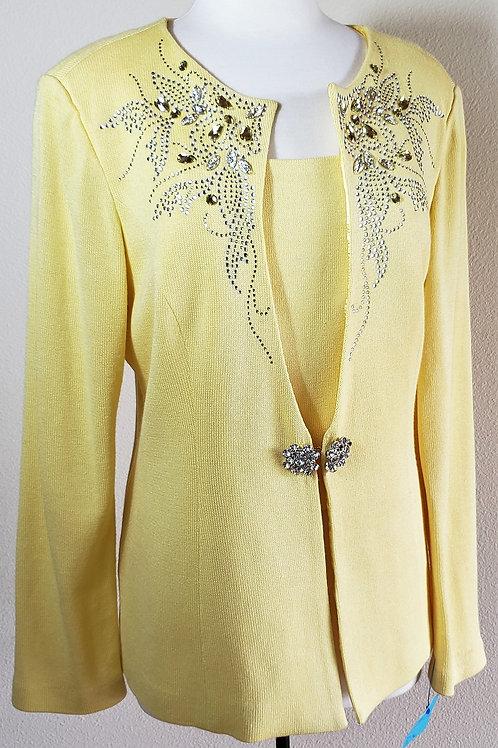 Donna Vinci Knit Jacket ONLY, Size 14    SOLD