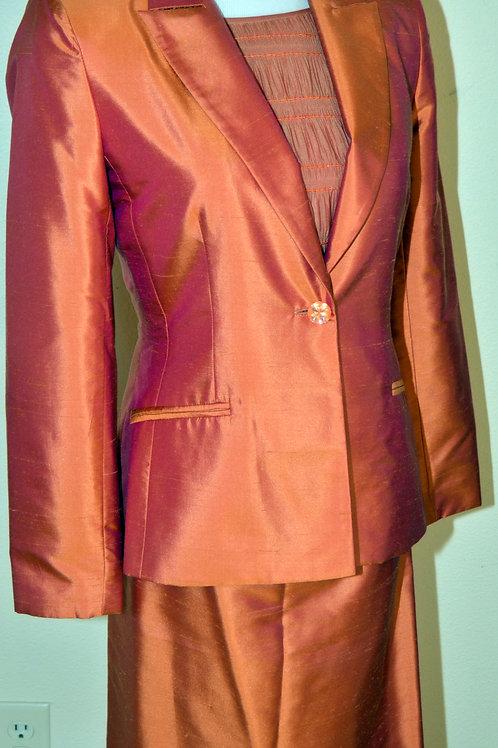 Kay Unger NY Suit, 3 pcs, Size 4  SOLD