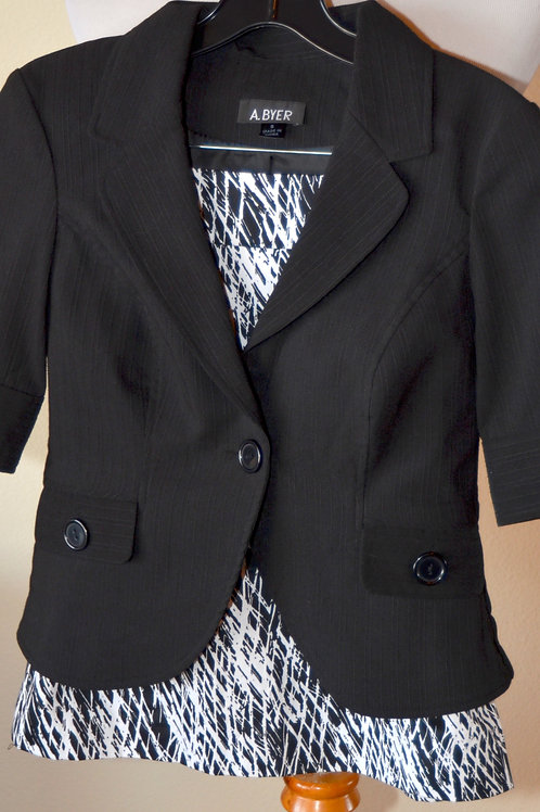 A Byer Jacket, Size S, No Label Skirt, SOLD