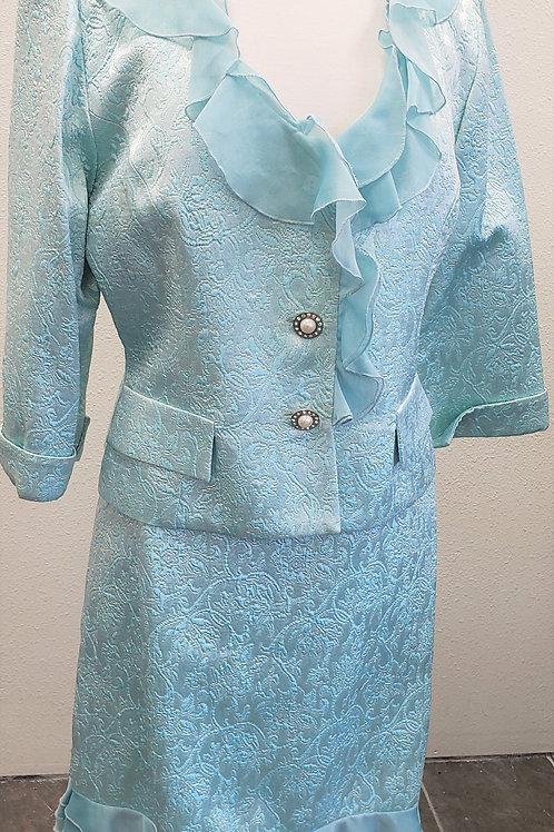JS Collection Suit, Size 14, RUNS SMALL, check measurements