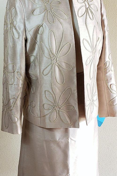 Kasper Suit, Size 14P