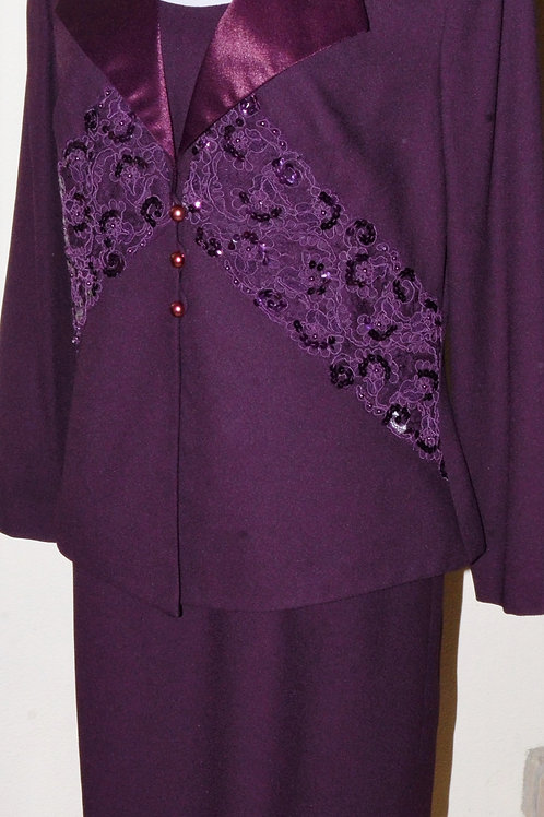 Nah Nah Collection Dress Suit, Size 16   SOLD