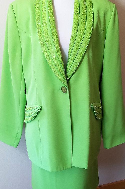 Anthony Sicari Suit, Size 16      SOLD
