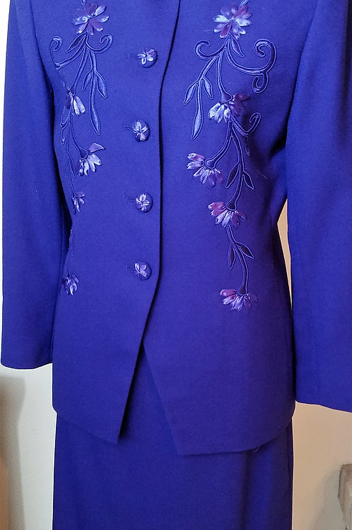 Emily Purple Suit, Size 8    SOLD