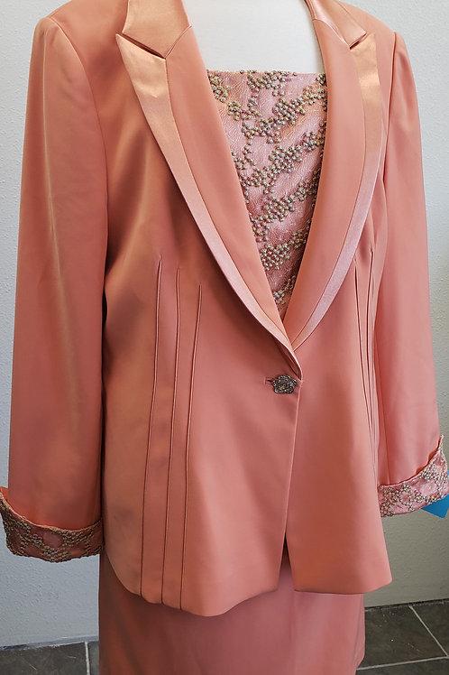 Champagne Suit, Size 18