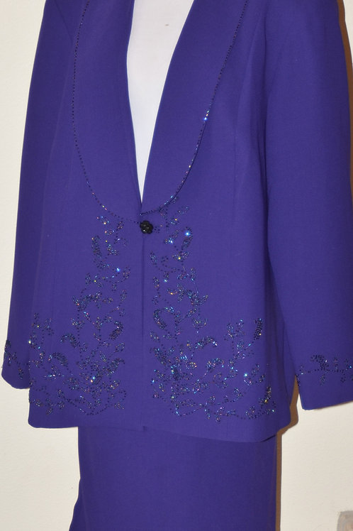 Maxie Klein Collections Suit, Size 20W   SOLD