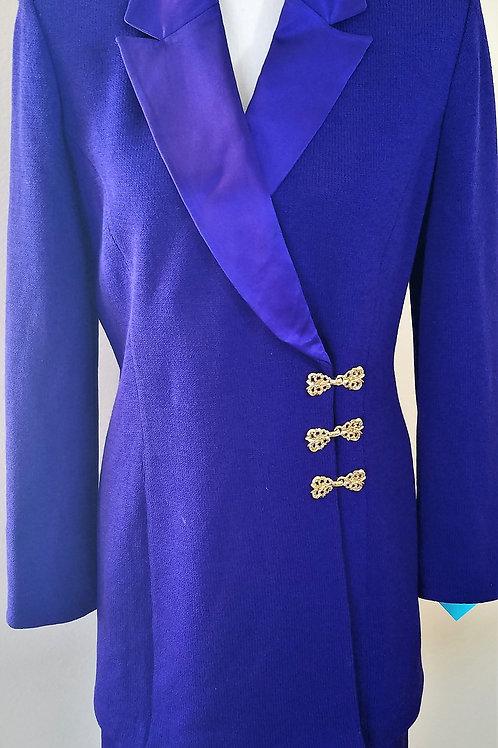 MM St. John Evening Suit, Jkt Sz 8, Skt Sz 6    SOLD