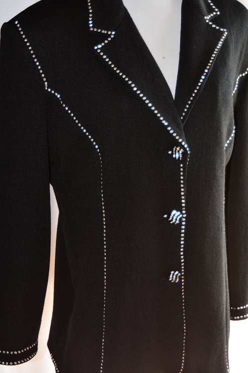 Midnight Velvet Sweater, Size 18   SOLD