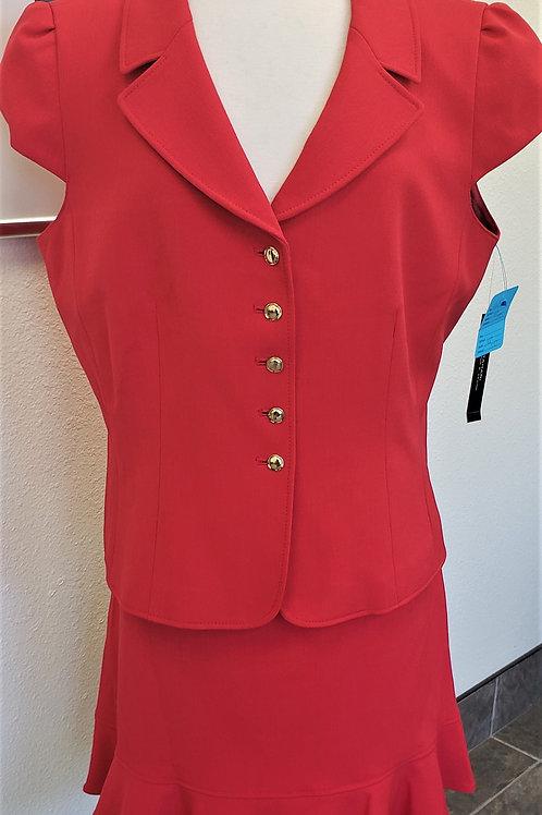 Tahari Short Sleeve Suit, NWT Size 18