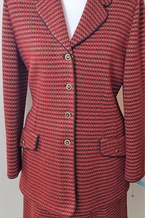 St. John Collection Suit, Jacket Sz 6, Skirt Sz 8