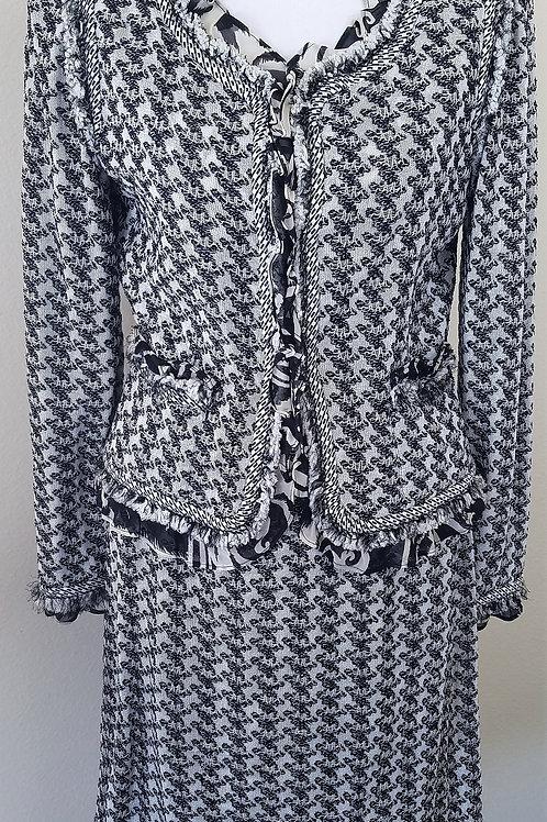MM St. John Couture Suit, Jacket Sz 6, Skirt Sz 4    SOLD