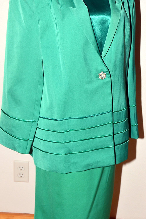 G.M.I. Woman Suit, Size 18W  SOLD