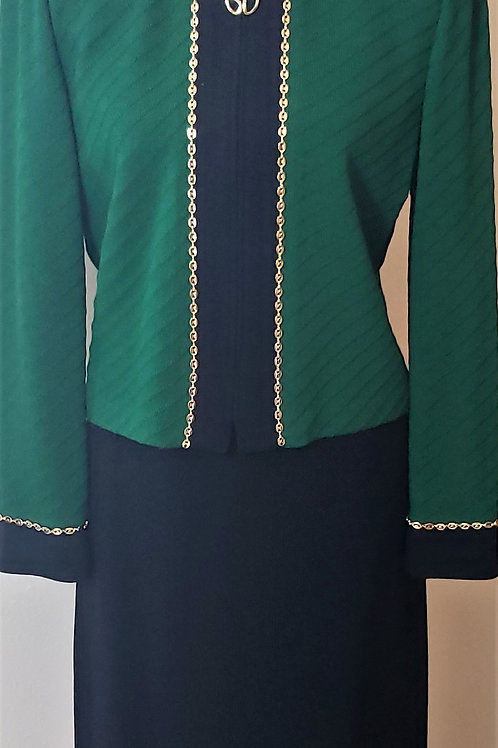 St. John Collection Suit, Size 8     SOLD