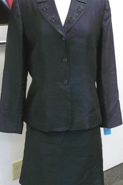 Le Suit, Navy Suit, Size 12