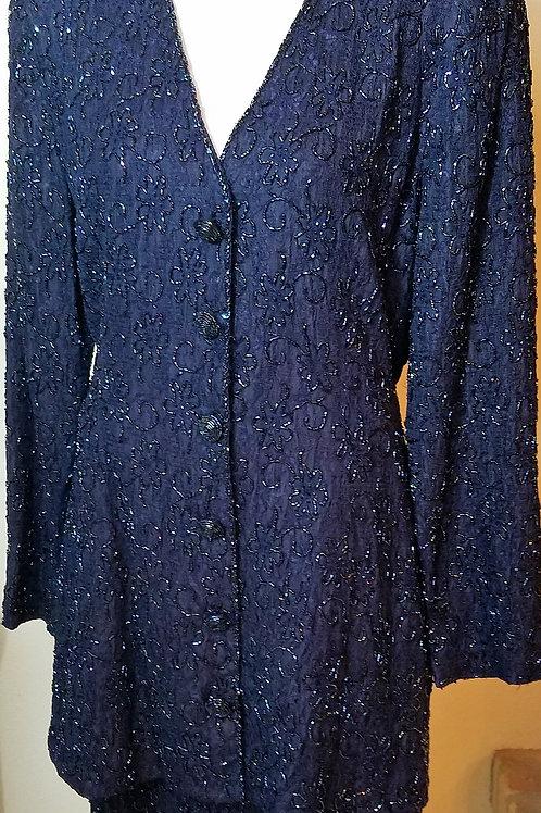 Carmen Marc Valvo Suit, Size 10