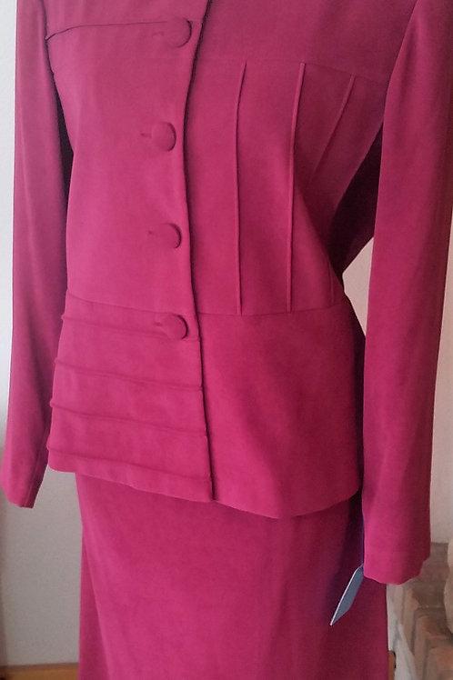 Leslie Fay Suit, Size 12    SOLD