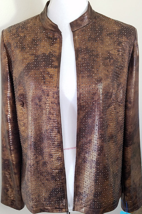 Chico's Copper Jacket, Size 1 (8) SOLD