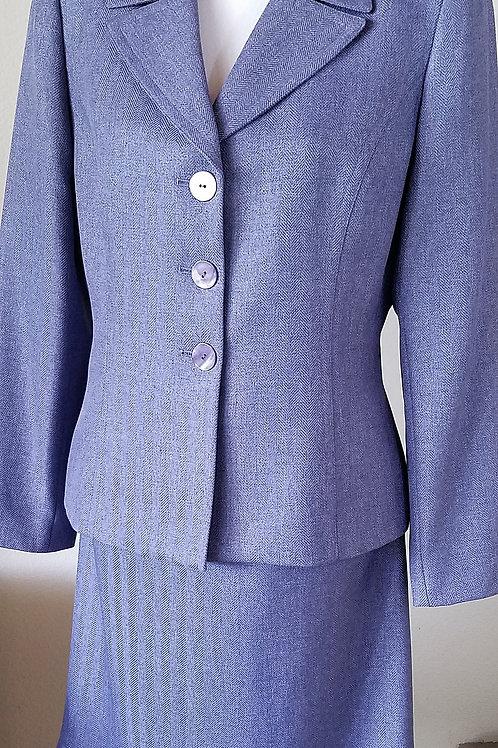 Le Suit, Nice Purple Suit, Size 10   SOLD